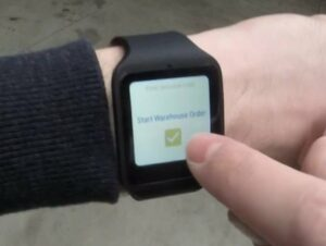 Quinaptis linked SAP S/4HANA to a smartwatch via the cloud. Why and how.